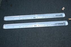 Nos Ford Assembly Line 1965-66 Mustang Convertible Scuff Plates Black Labels