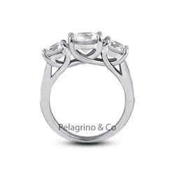 2 Ct G Si1 Round Cut Natural Certified Diamonds Platinum Classic Engagement Ring