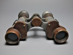 Antique Old Rare Vintage And Classic Japanese Wwii Binoculars Military