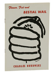 Flower Fist And Bestial Wail By Charles Bukowski First Edition 1960 1st Book
