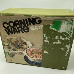 Vintage Corning Ware Spice O Life 1 Qt Covered Saucepan 10 In Skillet Nos