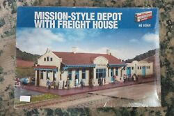 Mission Style Depot With Freight House Ho Kit 933-2924