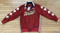 Adidas 2007 Nba All Star Allen Iverson Jacket Large New Limited Edition 08 Of 50