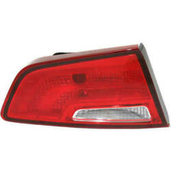 Taillight For Toyota Highlander 2010 Driver Side Oe Replacement Halogen W/bulbs