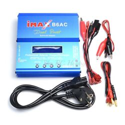 Rc Lipo Nimh Battery Charger For Hpi E-firestorm Savage Flux Bullet Sprint 2 Rs4