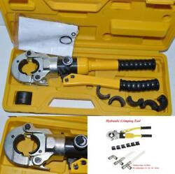 1 Set Hydraulic Fitting Tool For Pex Pipe Fittings Pb Pipe Copper Al Connecting