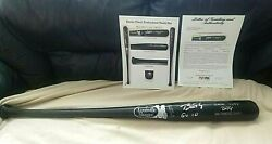 2010 Buster Posey Rookie/sign Psa Loa Game Used 10 Bat R.o.y World Series Champ