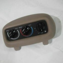 Temperature Temp Ac A/c Control 99 00 01 02 Navigator Front Overhead Auxiliary