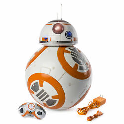 Spin Master Star Wars Bb-8 Fully Interactive Hero Droid W/ Remote + Charger New