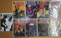 The Walking Dead 1 Variant Cover Lot 9 Books Wizard World +eccc