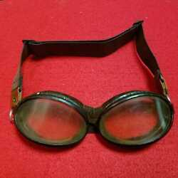 Vintage Ww2 Former Jp Army Naval Air Corps Goggles Aviation Goggles