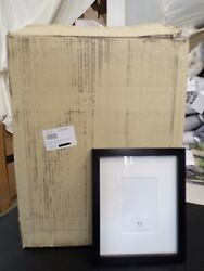 Pottery Barn Wood Gallery Frames In A Box Black Set Of 10 1827l