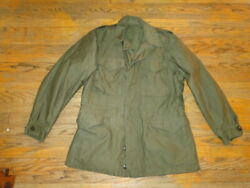 Vintage 1943 Field Jacket M43 Cold Weather Us Military Army Wwll Sz 38