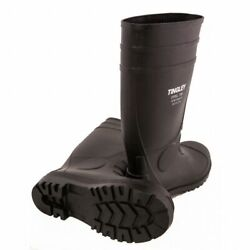 Rubber Steel Toe Boots Tingley Knee Pvc Black Cleated Size 6 - 14