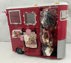 Our Generation Mane Attraction Horse Trailer For 18 Dolls Unused With Wear