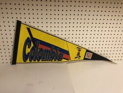 Columbia World Cup 1994 Pennant Soccer Football Vintage 30