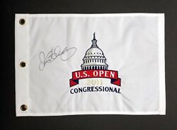 Rory Mcilroy Signed 2011 Us Open Congressional Golf Flag Autograph Aftal Rd Coa