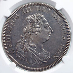 1804 Great Britain Uk George Iii Silver Bank Dollar 5 Shillings Coin Ngc I89601