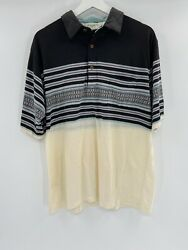 Vintage Classic By Palmland Club Polo Golf Shirt Men Large Retro Hipster Look
