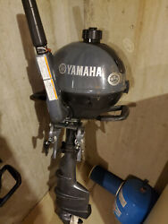 Yamaha 2.5 Hp Outboard. Long Shaft On The Outboard. Only 1 Year Old.