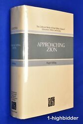 Approaching Zion Collected Works Of Hugh Nibley Vol. 9 1st Ed Hcdj Mormon Lds