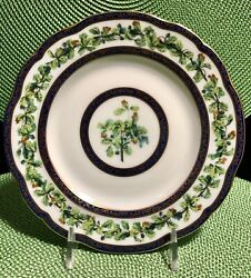 Puiforcat Chene Royal/royal Oaks Bread And Butter Plate/discontinued