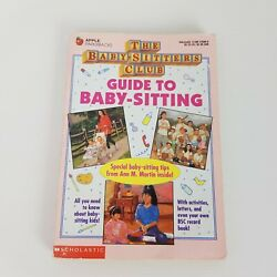 The Baby-sitters Club Guide To Baby-sitting Book Ann M Martin 1993