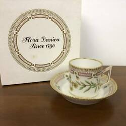 Unused Royal Copenhagen Flora Danica Chocolate Cup And Saucer Cands Demitasse