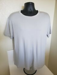 2500 Giorgio Armani Black Label T-shirt Cashmere Made In Italy Nwot Size Xxl