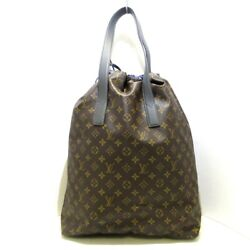 Auth Louis Vuitton Cabas Light M43852 Monogram Gi1118 Tote Bag