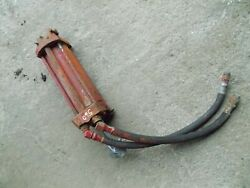 Farmall 560 450 Ih Tractor Original 2pt Quick Hitch Lift Cylinder W/ Hoses And Pin