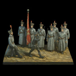 Tin Soldier Comrade Trotsky In Front Of The Cadets 9 Figures The Great War