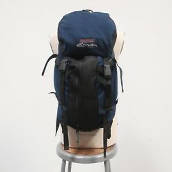 Vintage 90s Jansport Hiking Backpack Day Pack Made In Usa Native