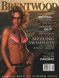 Brentwood Magazine - August 2003 - Maria Bunina - Best Of Summer - Swimsuits