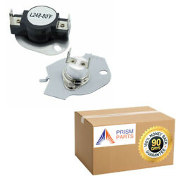 For Roper Dryer Thermal Cut-off Kit Fuse And Thermostat Pr6038006parp290