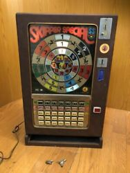 Vintage Jackpot Medal Game Machine Coin Game Ic For Amusement Only Showa Retro