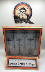 Lionel 6-37995 Lighted O Scale Telephone Poles Toy Train Layout Accessory Nib