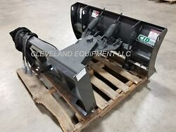 New 48 Mini Skid Steer Snow Plow Blade Attachment Dingo Ditch Witch Vermeer 4'