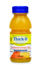 Thick-it Clear Advantage Thickened Orange Juice, 8 Oz. Bottle, Case Of 24