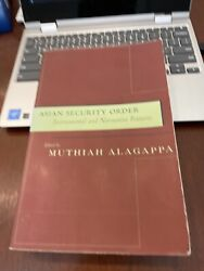 Asian Security Order By Alagappa 2002 Pb L