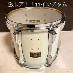 Vintage 80and039s Tama Drum Tom Art Star Ii 11 Inches Maple Shell White Color Rare O