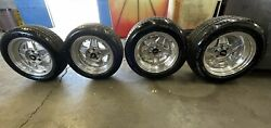 Simmons B45 Vintage Racing 3 Piece Wheels And Bf Goodrich Tires Staggered