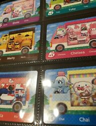 Sanrio Animal Crossing Amiibo Cards #S1 S6 US Mint Authentic Choose cards