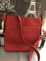 NEW AUTHENTIC COACH LARGE BLEECKER TOP ZIP NORTH SOUTH SWINGPACK $75.00