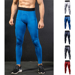 Solid Compression Underwear Base Layer Pants Workout Gym Cool Dry Running Menand039s