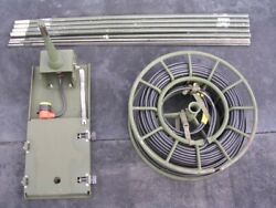 Used Us Army Grc-193 Antenna Extension Kit Collection Rare