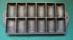 Vintage Griswold 950a Cast Iron Corn Bread Pan No. 11 - Very Good Condition