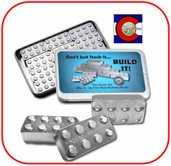 Building Blocks 12 - 1 Oz 0.999 Silver Art Bars Official Starter Kit