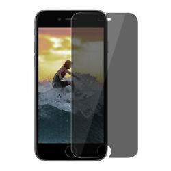 For Apple Iphone 8 9h 0.33mm High Privacy Dark Screen Protector Tempered Glass