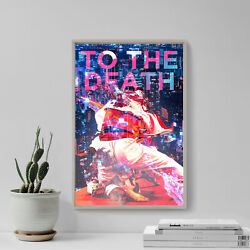 Jiu-jitsu Poster - To The Death - Art Print Gift Christian Photo Bjj Motivation